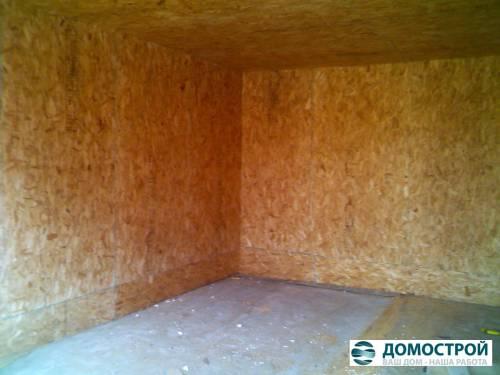 внутренняя отделка гаража фото 1